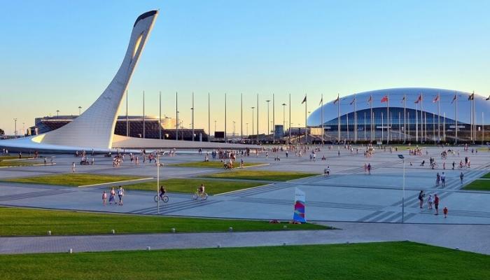 А.Н. Пахомов проинспектировал Олимпийский Парк
