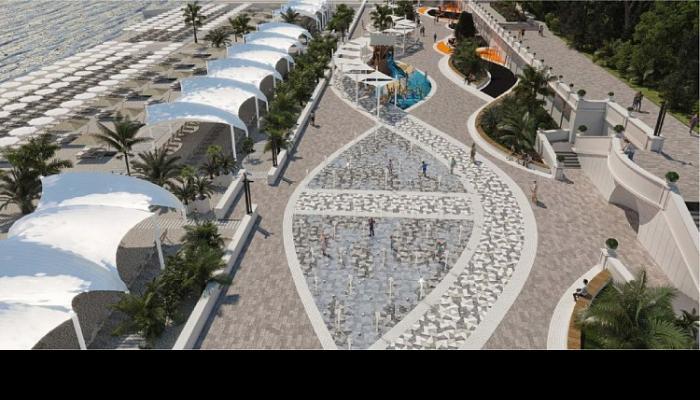 В Сочи представили предварительную концепцию реконструкции центральной Приморской набережной